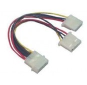 CABLE ALIMENTATION INTERNE 4pin - 4pin + 4pin M / F+F - PI01032