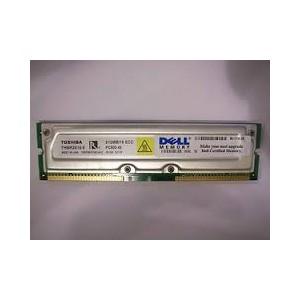 MEMOIRE Occasion 512MB Toshiba THMR2E16-8 800-45 PC800 800MHz ECC RDRAM RAMBUS RIMM Memory - Garantie 1 mois