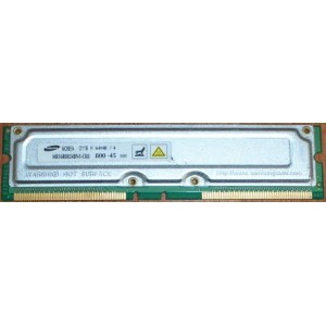 MEMOIRE Occasion Samsung MR16R0824BN1-CK8 PC800-45 64MB RDRAM - Gar 1 mois