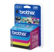 PACK CARTOUCHES Brother MFC-210C Noir, Cyan, Magenta, Jaune - LC900VALBP
