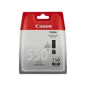 Cartouche Noire Canon - 15ml 300pages - PGI-550pgbk - 6496B001