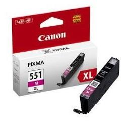 CARTOUCHE MAGENTA Canon XL - 11ml 660 pages - 6445B001 - CLI-551MXL