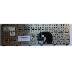 CLAVIER AZERTY HP DV7-6000 - NSK-HJAUW, P/N: 9Z.N2ZUW.A0F, 664264-051, 639396-051 - Noir