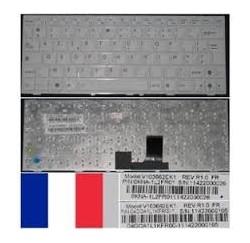 CLAVIER AZERTY NEUF ASUS EEEPC 1018, 1005PE - 04GOA1L1KFR00-3 - Blanc