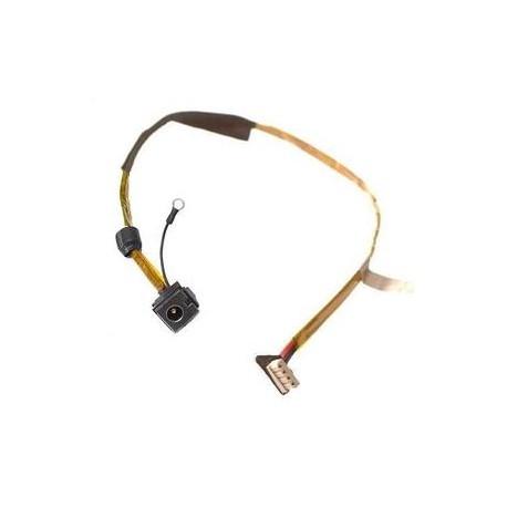 CONNECTEUR ALIMENTATION CARTE MERE + CABLE TOSHIBA SATELLITE P500, P505, Qosmio X500 - TLDC245 - A000049130