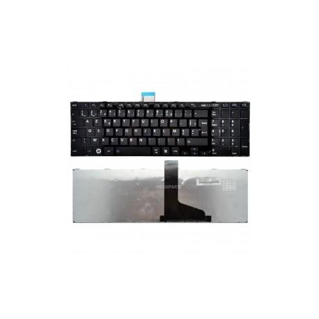CLAVIER AZERTY NEUF TOSHIBA C850, C850D, C870, C870D - H000044200 - H000044430 - Noir - Gar 3 mois - Touche Windows 8