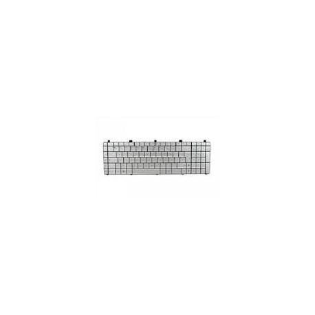 CLAVIER AZERTY NEUF ASUS N55, N75, N75S, N75SF, N75SL - Argent - AENJ6F00010 - MP-11A16F069203 - Gar.3 mois