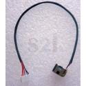 Connecteur carte mère DC Jack + Cable - HP Pavilion DV5 DV6 DV7 G61 G71 CQ61 CQ71 - TLDW106 - 22cm - 6 pins