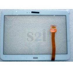 """Vitre tactile SAMSUNG 10""""1 TAB3 P5200, P5210 - L_TAB3-P52XX - Gar.3 mois - Blanc"""
