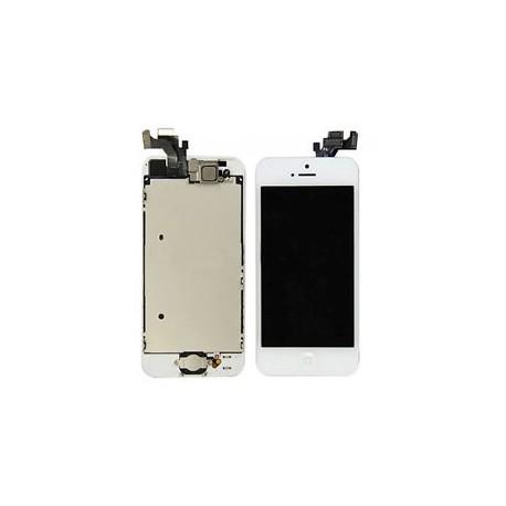VITRE TACTILE + ECRAN LCD APPLE Iphone 5 - BLANC -
