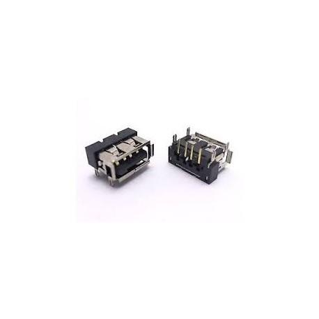 CONNECTEUR USB A SOUDER pour TOSHIBA Satellite C660 C660D A300 A300D l450 l450d a215