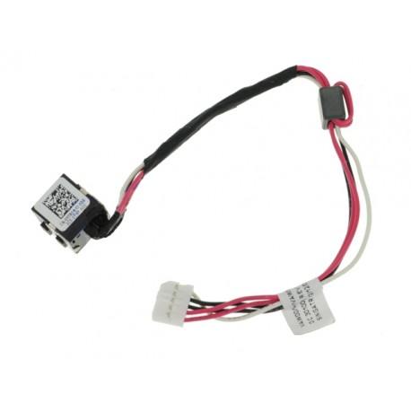 Connecteur carte mère DC Jack + Cable DELL Inspiron 15 5721 3521 2521 5521 - DC30100M900 - YF81X - 0YF81X