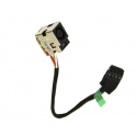CONNECTEUR CARTE MERE + CABLE HP G6-2000, G7-2000 series, DM4-3007xx - 682744-001