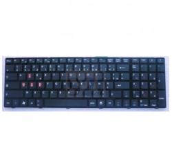 CLAVIER AZERTY NEUF MSI CX720 CX705MX CX705 CX623 CX620MX CX620 CX605 E6605 E7003 GE700 - v111922ak3 FR - S1N-3EFR251-SA0