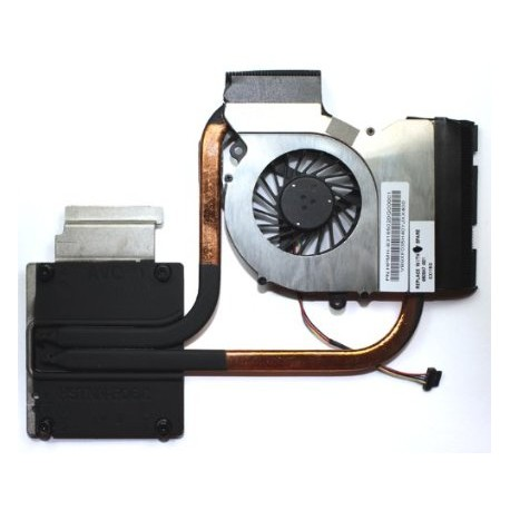 VENTILATEUR + RADIATEUR NEUF HP DV6-6000 - AMD - 650847-001 - Ksb0505hb