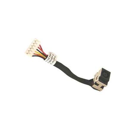 Connecteur DC Jack Carte mère HP Compaq CQ50, CQ60, CQ70 - 50.4H513.001 - 486637-001 - 496835-001 - 7cm