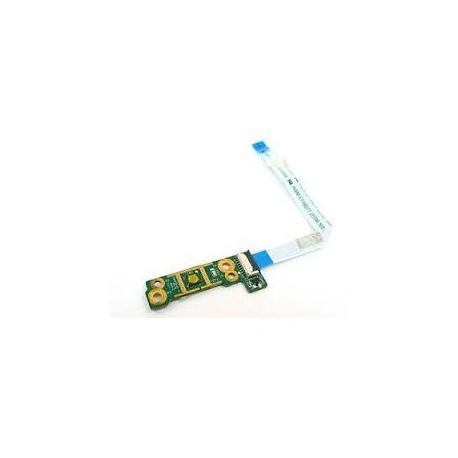 BOUTON POWER + CABLE OCCASION HP DV6-3xxx, DV6-3000 Series - 606143-001 - DA0LX6PB4D0 - Gar 1 mois