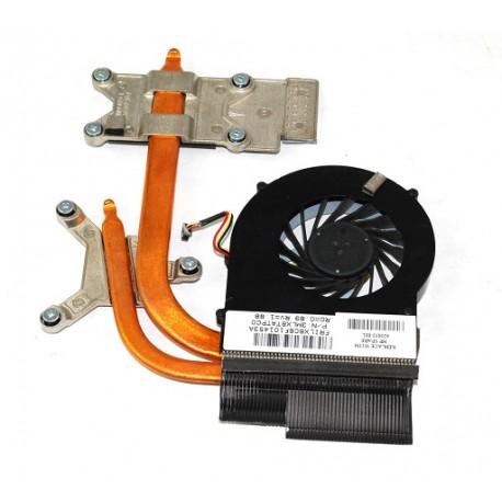 Ventilateur + radiateur HP DV6, DV6t, DV6-3000, DV7-4000 - 622032-001 - Gar.3 mois