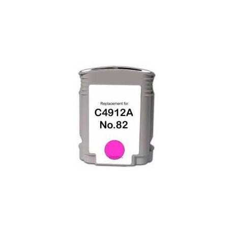 CARTOUCHE COMPATIBLE HP MAGENTA DESIGNJET 500, 800 - No82 - C4912A