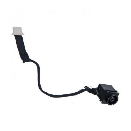 Connecteur alimentation carte mère portable + câble SONY VPC-YA, VPC-YB - 50.4kk05.021