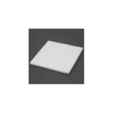 PAD THERMIQUE EN SILICONE 100x100x3mm pour CPU, Carte - 1.8 W/mk Vidéo