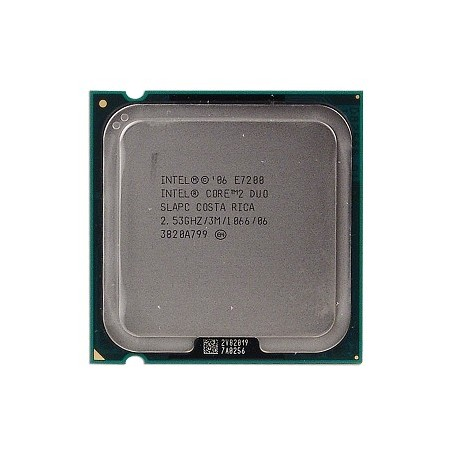 CPU Intel Core 2 Duo E7200 - 2.5Ghz - Gar.1 mois