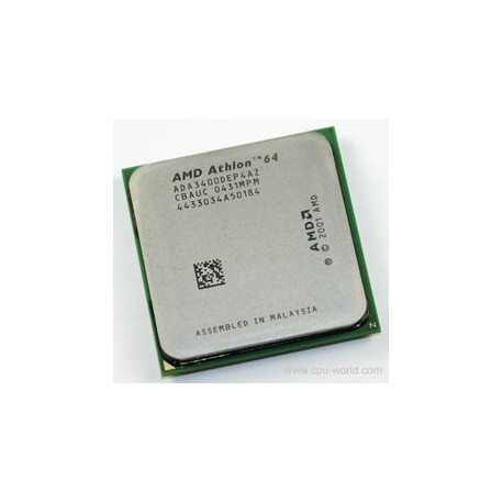 CPU AMD 64 3400+ Sockezt 939 - ada3400dep4az - Gar.1 mois