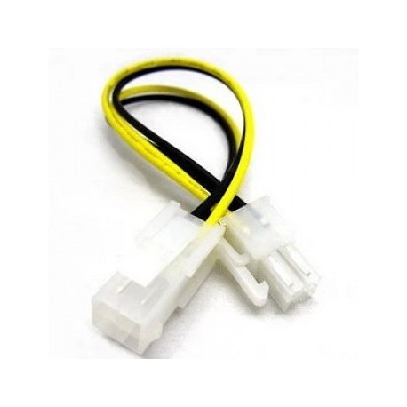 RALLONGE CABLE ALIMENTATION 4PIN M/F - 5CM