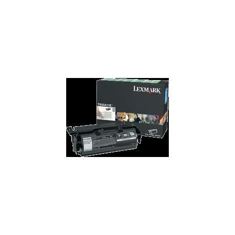 TONER LEXMARK NOIR T650N/DN, T652 - T650A11E - 7000 pages