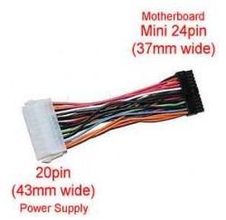 Adaptateur ATX 20 pins F vers mini ATX 24 pins M - ADAP2024mini