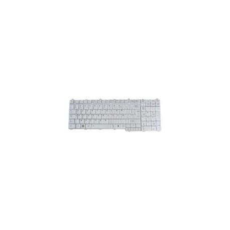 CLAVIER AZERTY NEUF TOSHIBA Satellite L550-10N - K000079230 - Gris / Silver