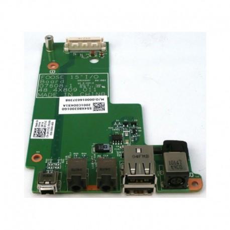 CARTE FILLE NEUVE USB, DC JACK, AUDIO DELL Latitude E5500 - F171C - 48.4x809.011