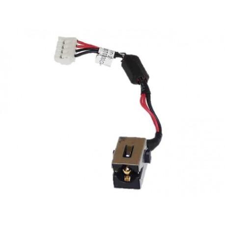 CONNECTEUR DC JACK + CABLE TOSHIBA U945, U940 - DC30100LY00 - K000137830