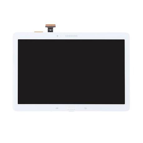 "ENSEMBLE VITRE TACTILE + ECRAN LCD + CADRE NEUF SAMSUNG Galaxy SM-P600, P601 - 10.1"" - Blanc"