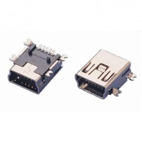 CONNECTEUR USB MINI B à souder