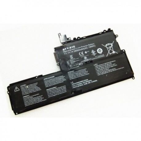 BATTERIE NEUVE COMPATIBLE MSI Slider S20 - BTY-S1E - 42.18wh - 11.1V - 3800mah
