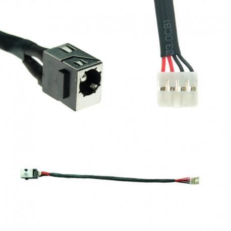 CONNECTEUR DC JACK + CABLE TOSHIBA TECRA R850, R950 - P000541820