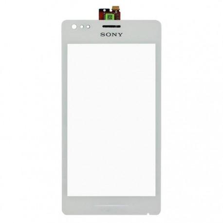 VITRE TACTILE SONY Xperia M C1904 C1905 - Blanc