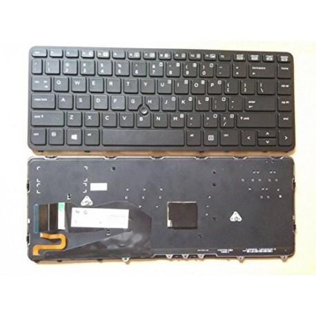 CLAVIER QWERTY US HP Elitebook 840 G1, 850 G1 - 731179-001 736654-001 - NSK-CP2BV