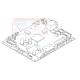 CARTE ELECTRONIQUE PRINCIPALE NEUVE BROTHER - LT3068004