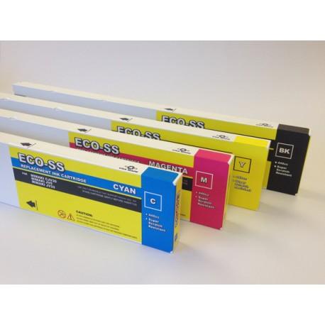 Cartouche Jaune Compatible Mimaki SS21 pour JV33, JV34, JV5, CJV - 440ml SPC-0501Y