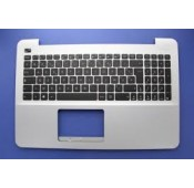 CLAVIER AZERTY NEUF + COQUE ASUS X555, X555LD - Gris - 90NB0622-R31FR0