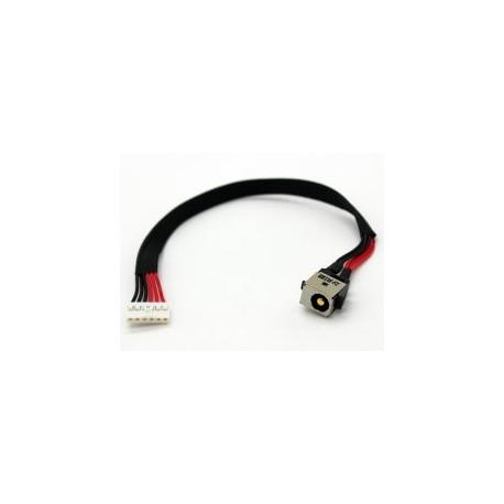 CONNECTEUR DC JACK + CABLE ASUS X751, X751L, X751LD - 14004-02020000