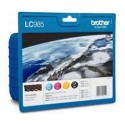 PACK CARTOUCHES BROTHER LC-985, Noir, Cyan, Magenta, Jaune - LC985VALBPDR