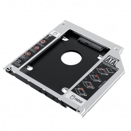 """CADDY pour LECTEUR Super slim 9.5mm pour Disque Dur 2.5"""" HDD, SSD"""
