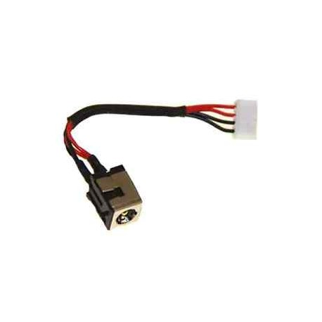 Connecteur alimentation carte mère portable + câble ASUS K50, K40, K60, X50, X5G, X5, P50 - TLDC218