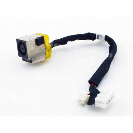 Connecteur carte mère DC Jack + Cable - HP Probook 4530s, 4535s, 4730s - 6017B0300201