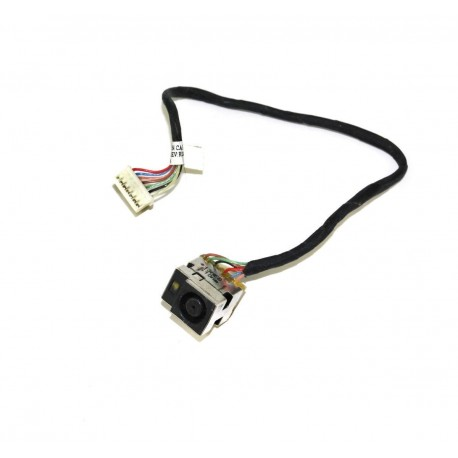 Connecteur carte mère DC Jack + Cable - HP Pavilion G72, G62, Presario CQ72 - Version INTEL - TLDC252 - 616496-001