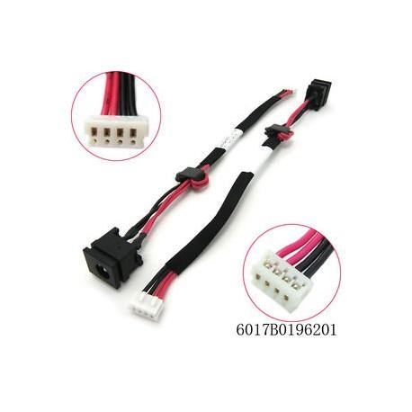 Connecteur alimentation carte mère portable TOSHIBA Satellite A300 A305 A305D series - V000932670 - TLDCHT20