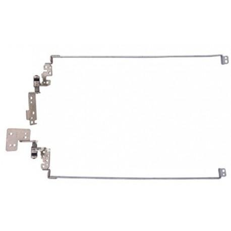 KIT CHARNIERES NEUVES HP Pavilion G6-1000 series- 639511-001 - 6055B0019902 - 6055B0019901 - LED